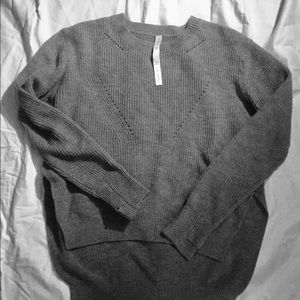 Lululemon merino wool sweater, 12